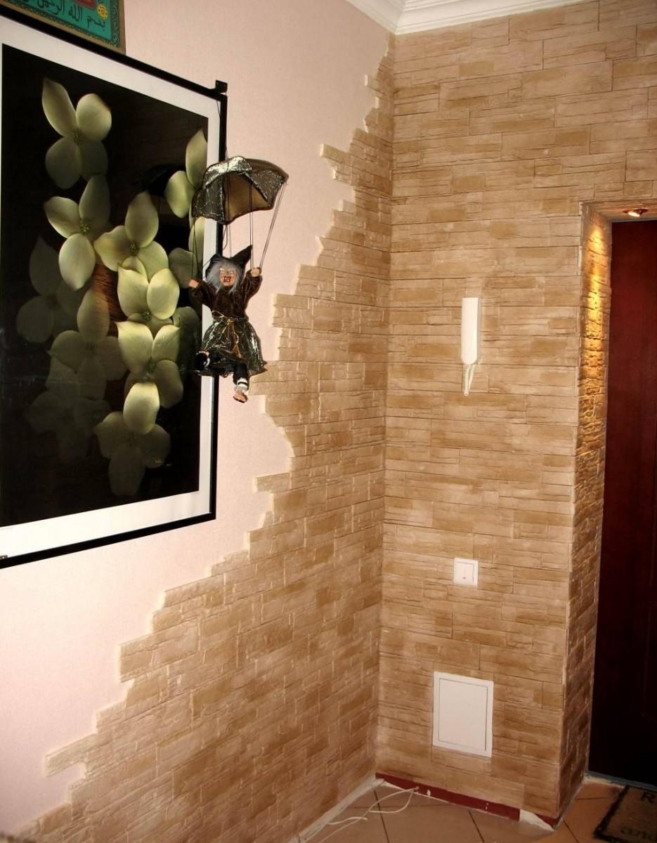 Отделка стен камнем - фото лучших решений оформления интерье.